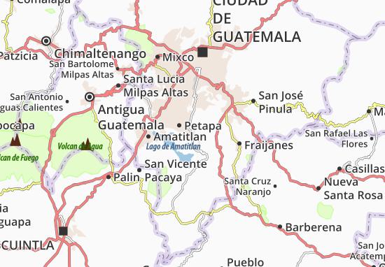 Mapa Plano Villa Canales