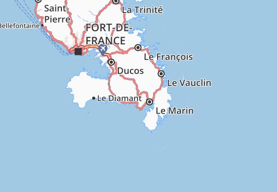 Rivière-Pilote Map
