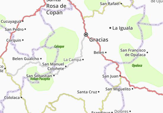 La Campa Map