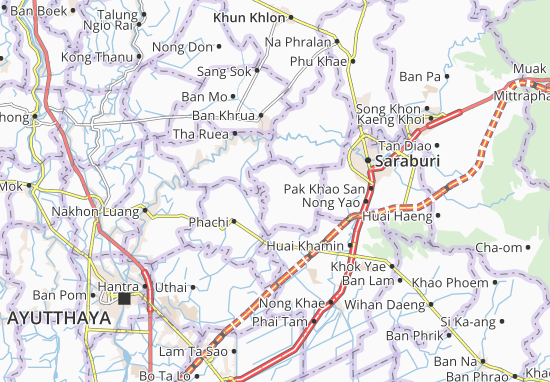 Nong Saeng Map