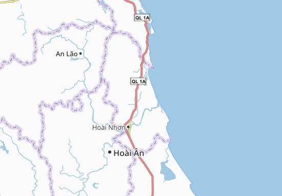 Kaart Plattegrond Hoài Thanh