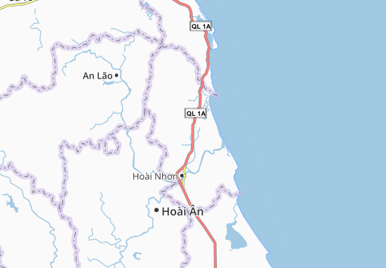 Mapas-Planos Hoài Thanh Tây