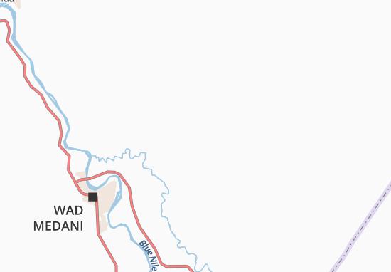 Map Of Ragwa Michelin Ragwa Map ViaMichelin - Wad madani map