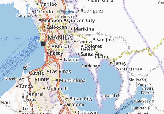 Angono Map