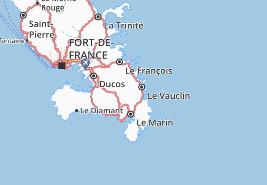 Champ Fleury Map