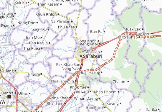 Saraburi Map