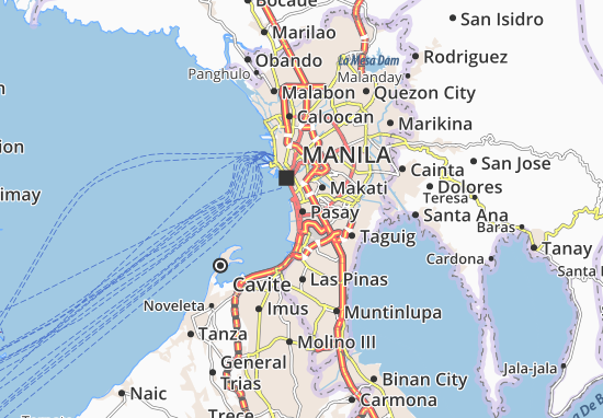 Mappe-Piantine Pasay