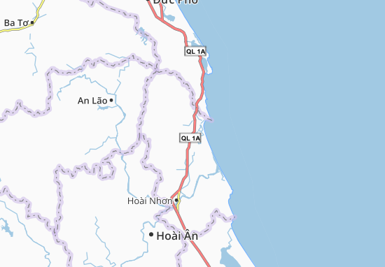 Mappe-Piantine Tam Quan