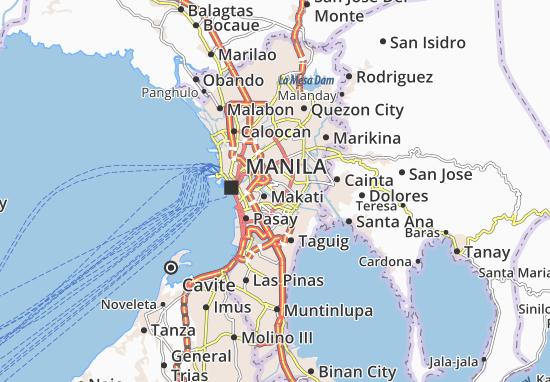 Mandaluyong Map