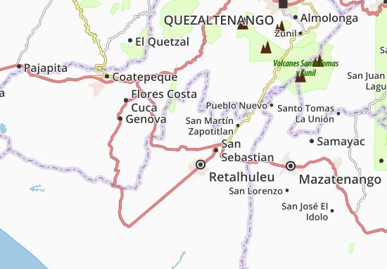 Carte-Plan Nuevo San Carlos