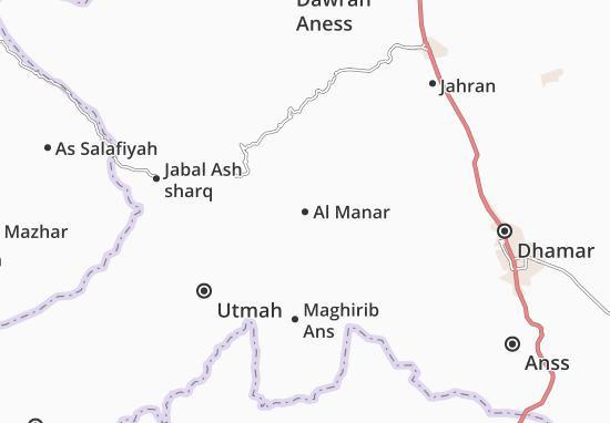 Carte-Plan Al Manar
