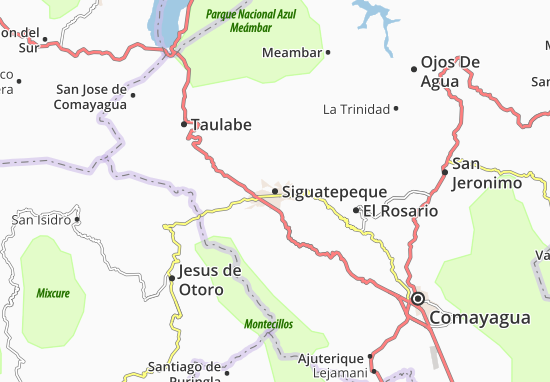 Siguatepeque Map