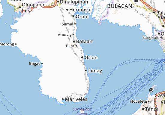 Carte-Plan Orion