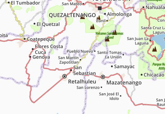 Mapas-Planos San Felipe Retalhulehu