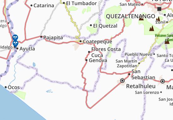 Mapas-Planos Genova