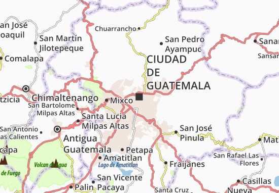 Guatemala City Map: Detailed maps for the city of Guatemala City ...