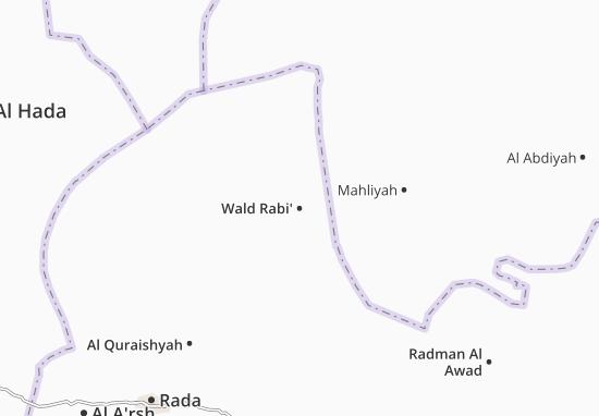 Wald Rabi' Map