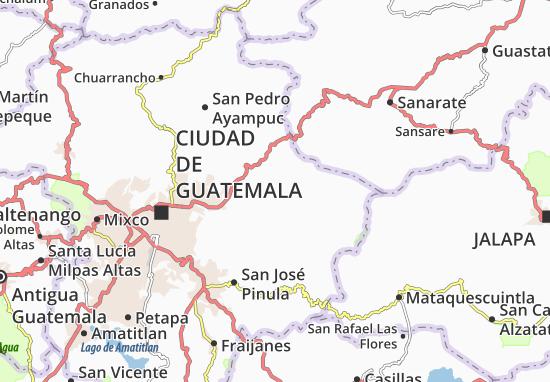 Carte-Plan Palencia
