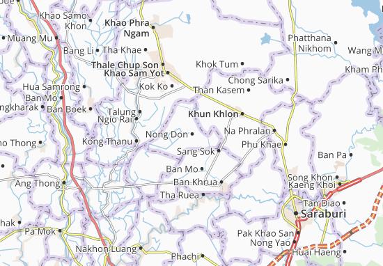 Mappe-Piantine Nong Don
