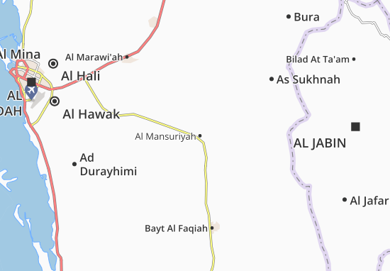 Al Mansuriyah Map