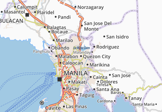 Mappe-Piantine Quezon City