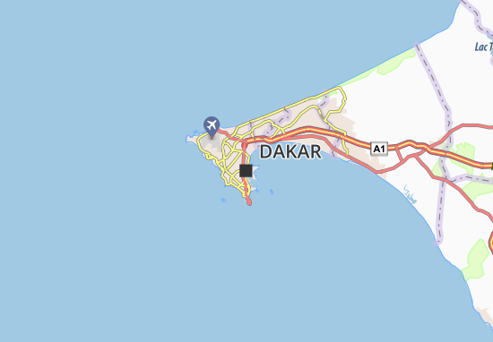 Mapa Plano Dakar