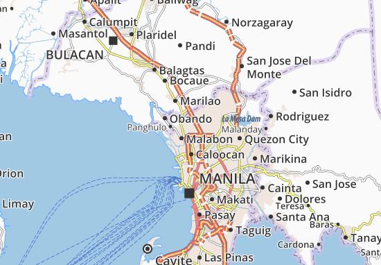 Valenzuela Map