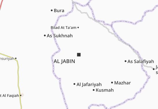 Carte-Plan Al Jabin
