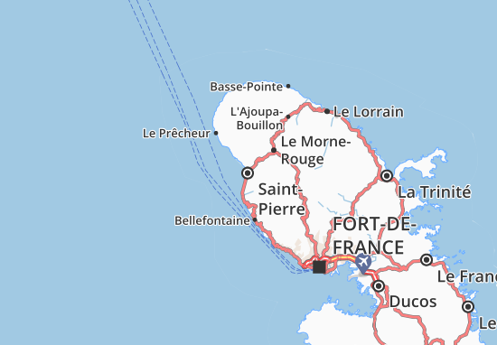 Saint-Pierre Map