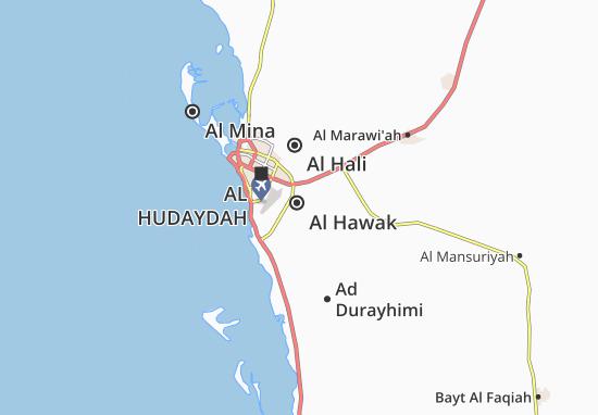 Carte-Plan Al Hawak