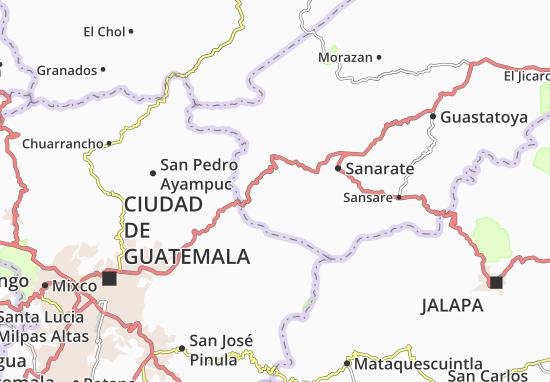 Carte-Plan San Antonio La Paz