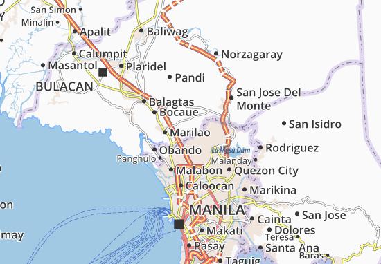 Kaart Plattegrond Meycauayan