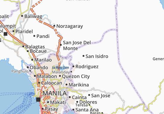 Mappe-Piantine San Isidro