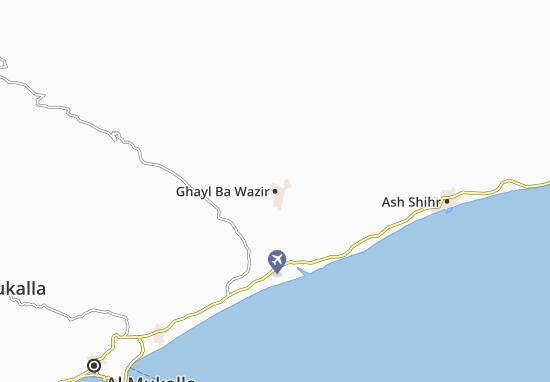 Ghayl Ba Wazir Map