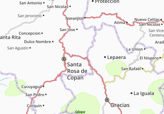Mapas-Planos San Juan de Opoa