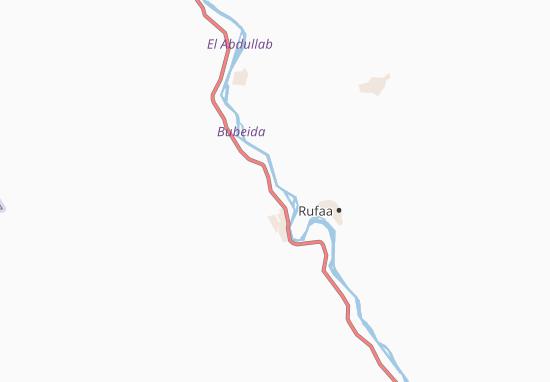 Carte-Plan Abu-Furu