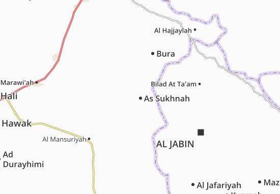 Mapas-Planos As Sukhnah