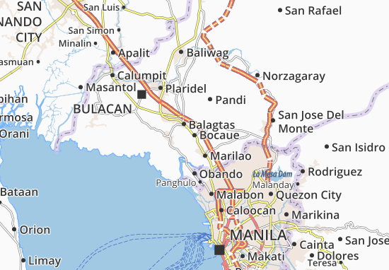 Bocaue Map