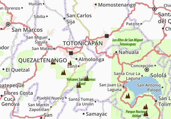 Kaart Plattegrond Cantel