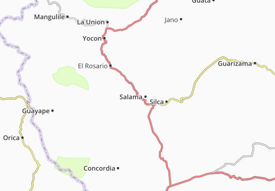 Mapa Plano Salama