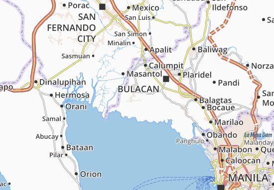 Carte détaillée San Sebastian - plan San Sebastian - ViaMichelin