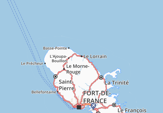 Le Lorrain Map