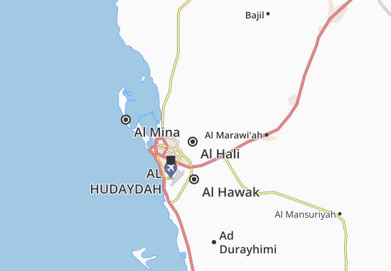 Carte-Plan Al Hali