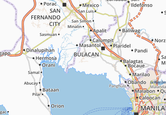 Mappe-Piantine Hagonoy