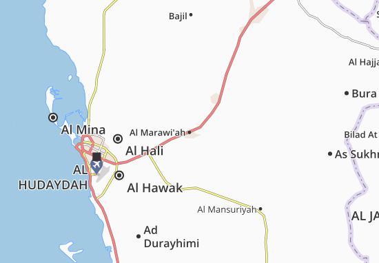 Carte-Plan Al Marawi'ah