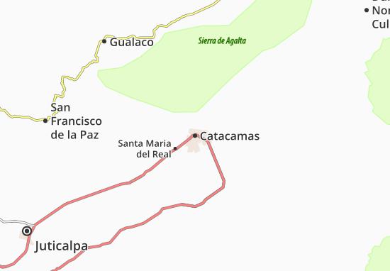 Mapas-Planos Catacamas
