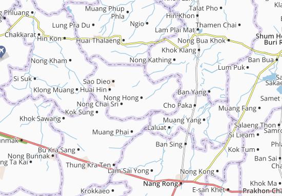 Nong Hong Map