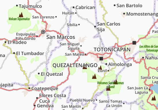 Mappe-Piantine Concepción Chiquirichapa