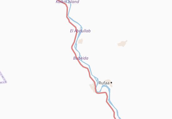 Carte-Plan Al Buwaydah