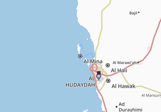 Mapa Al Mina